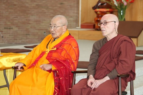 Old Master and Bhante
