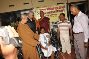 (L to R ) Venerable Bhiksuni Chueh Men, Venerable Yushi Shimada , Venerable Unapana Ariyadhamma Thero